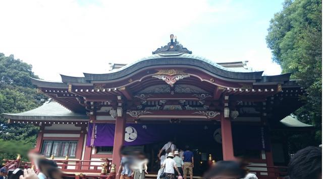 東京都吉祥寺武蔵野八幡神社の本殿