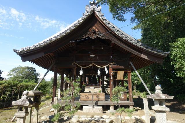 愛知県大神社の本殿