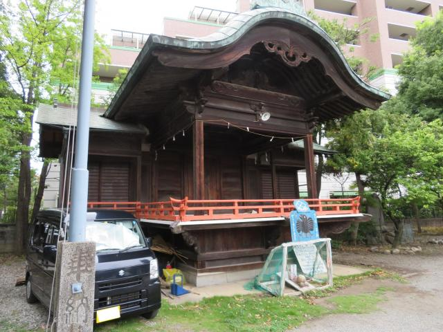 山梨県穴切大神社の本殿