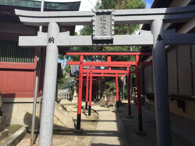 大阪府大宮神社の鳥居