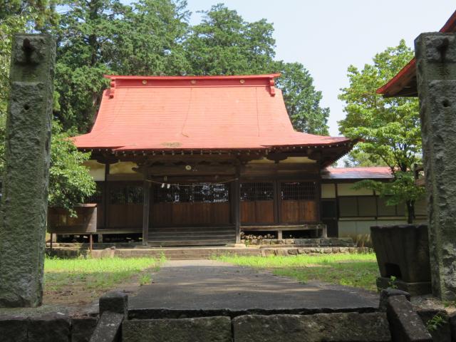 南宮大神社の本殿