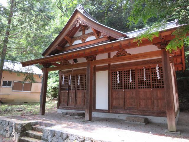 為朝神社の本殿