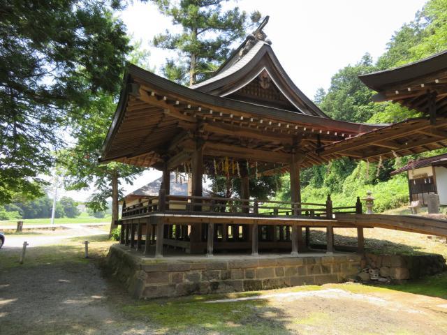穂見諏訪十五所神社の建物その他