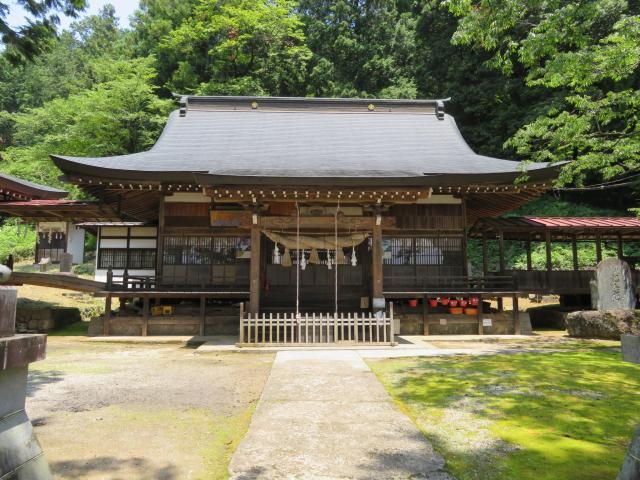 穂見諏訪十五所神社の本殿