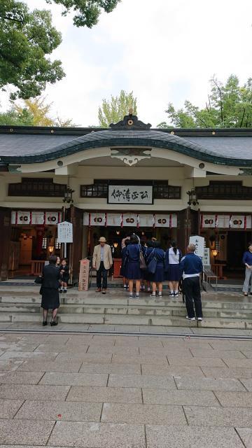 熊本県加藤神社の本殿