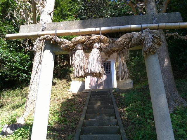 須の宮神社の鳥居
