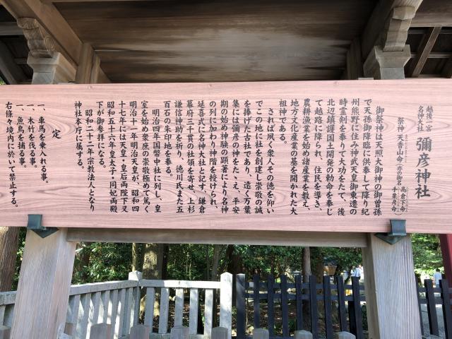 彌彦神社の歴史