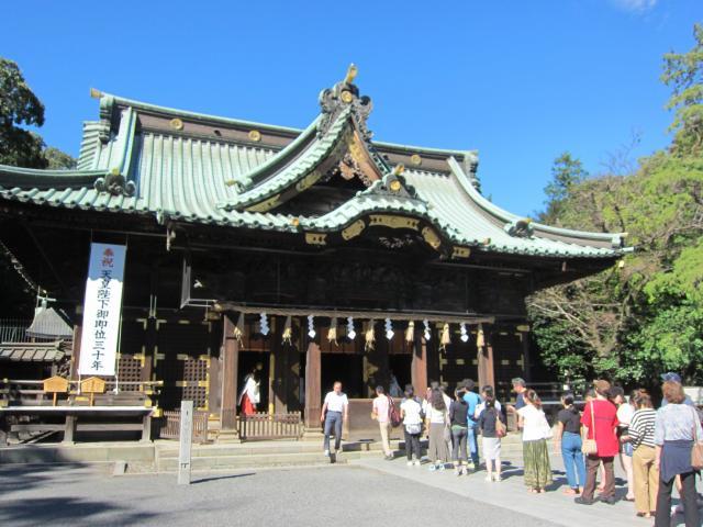 静岡県三嶋大社の本殿