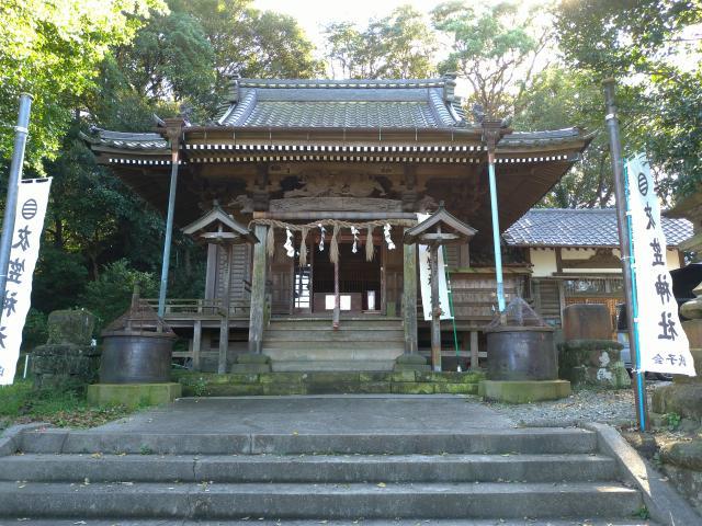 神奈川県衣笠神社の本殿