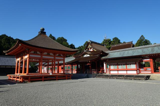 岐阜県南宮大社の本殿