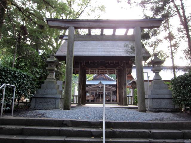 静岡県井伊谷宮の鳥居