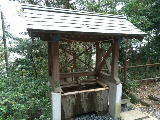 白旗神社(神奈川県東戸塚駅) - 手水舎の写真