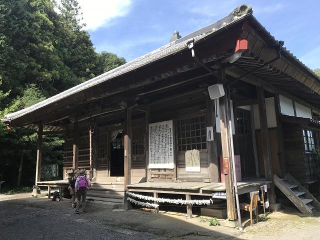 大分県傳乗寺(真木大堂)の本殿