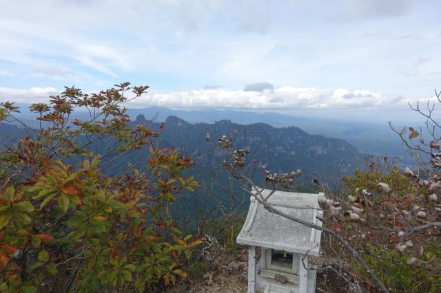 中之嶽神社の景色