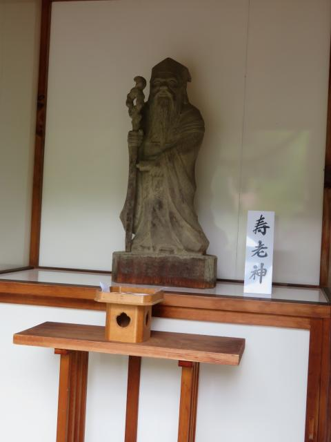 夫婦木神社の像