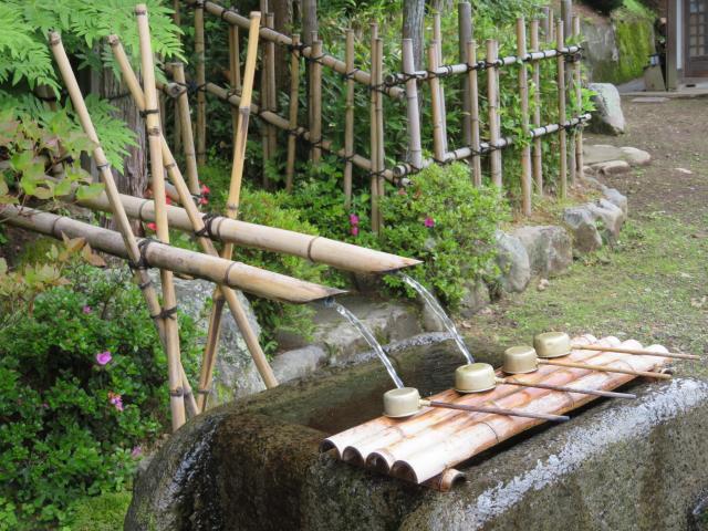 夫婦木神社の手水
