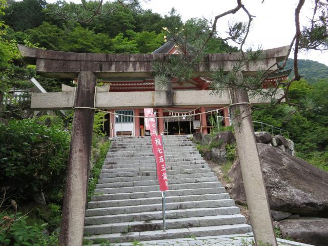 山梨県夫婦木神社姫の宮の鳥居