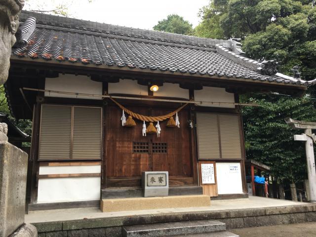 高須天神社の本殿