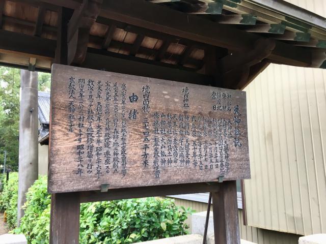 高須天神社の歴史