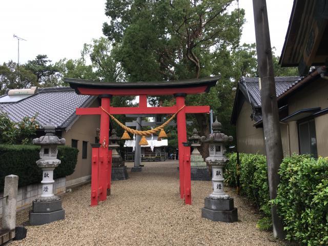 高須天神社の鳥居