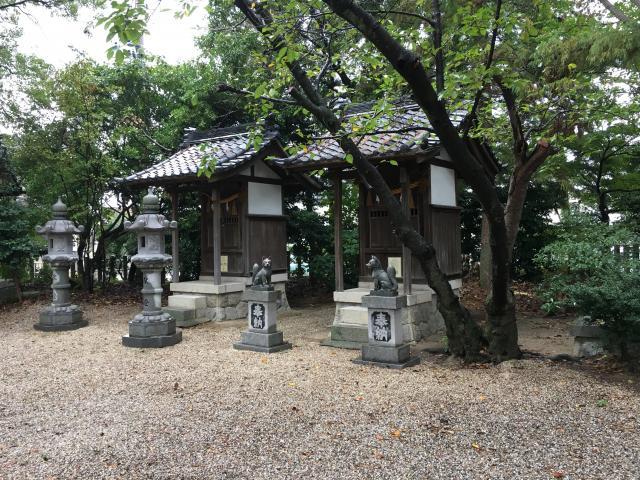 高須天神社の末社