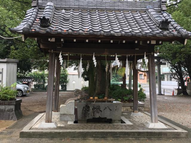 野田八幡宮の手水