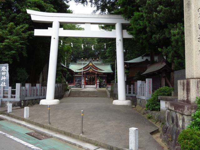 神奈川県寒田神社の鳥居