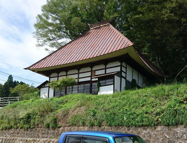 長野県延命寺の本殿