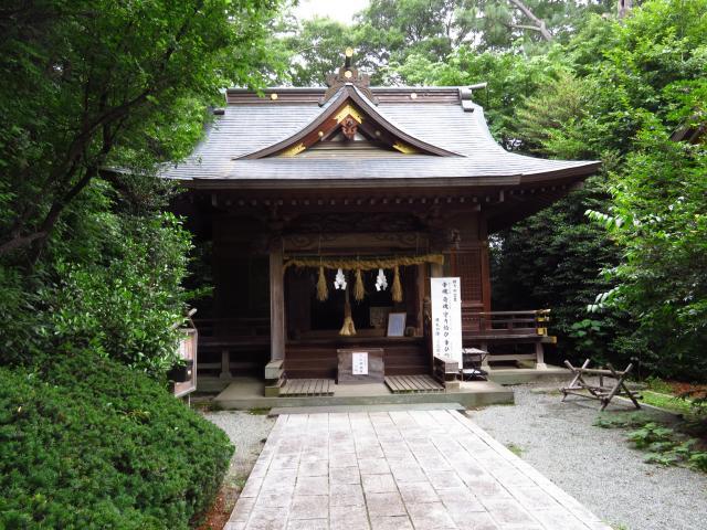 神奈川県出雲大社相模分祠の本殿