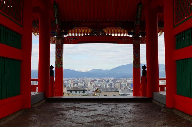 京都府清水寺の本殿