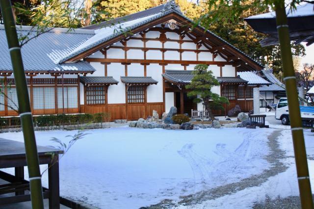 瑞巌寺の本殿