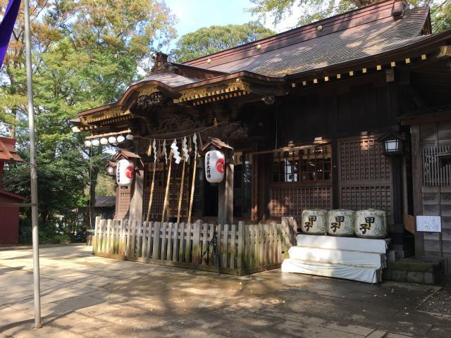 千葉県麻賀多神社の本殿