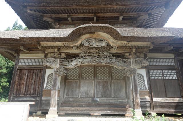新潟県西福寺の本殿