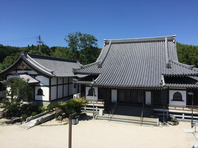 福岡県海徳寺の本殿
