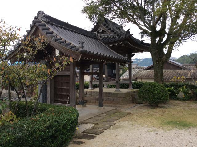 福岡県海徳寺の山門