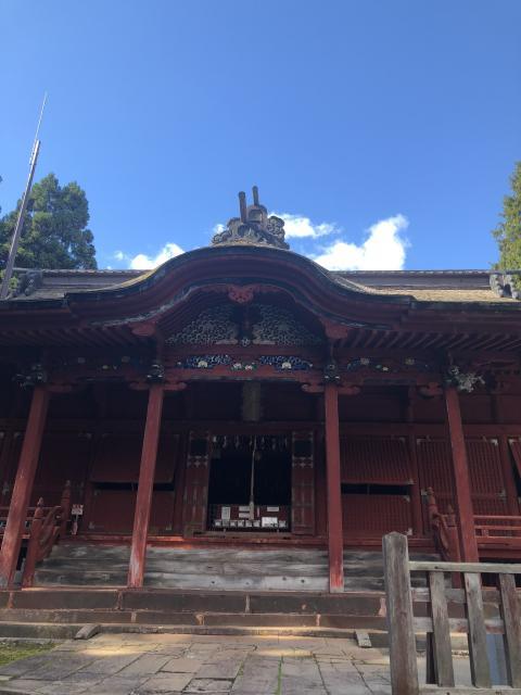 高照神社の本殿