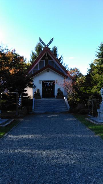 北海道上手稲神社の本殿