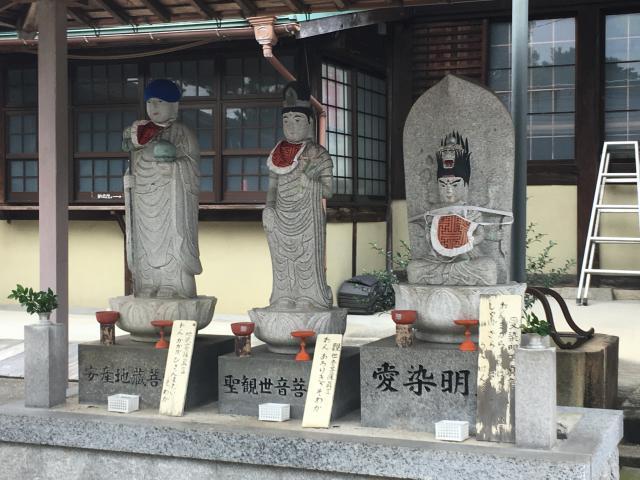 密蔵院の仏像