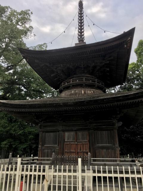 知立神社(愛知県知立駅) - 塔の写真