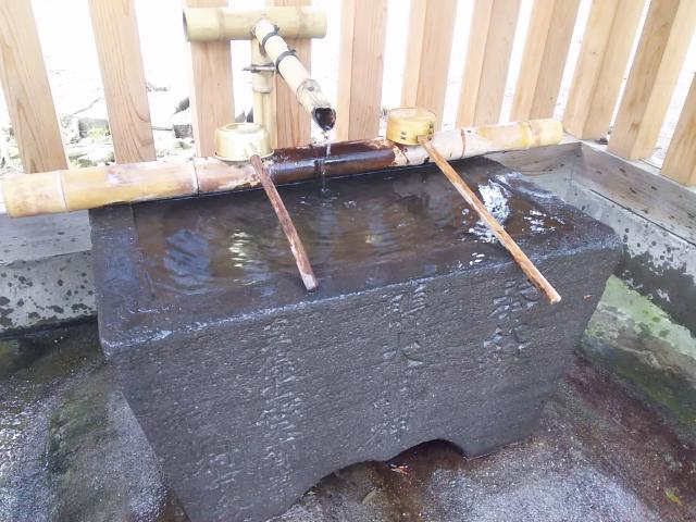加茂神社の手水