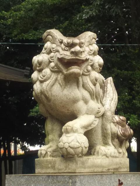 加茂神社の狛犬