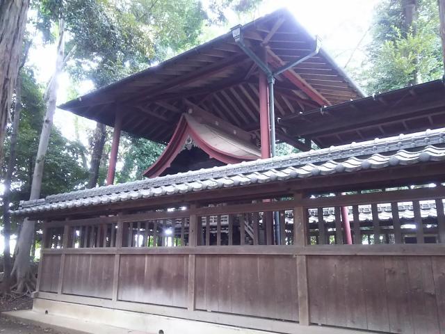 加茂神社の本殿