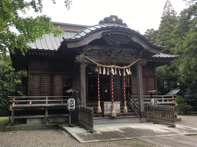 千葉県島穴神社の本殿