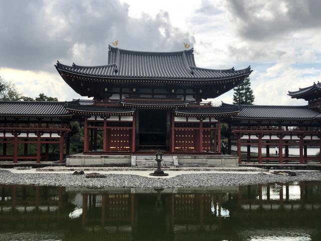 京都府平等院の山門