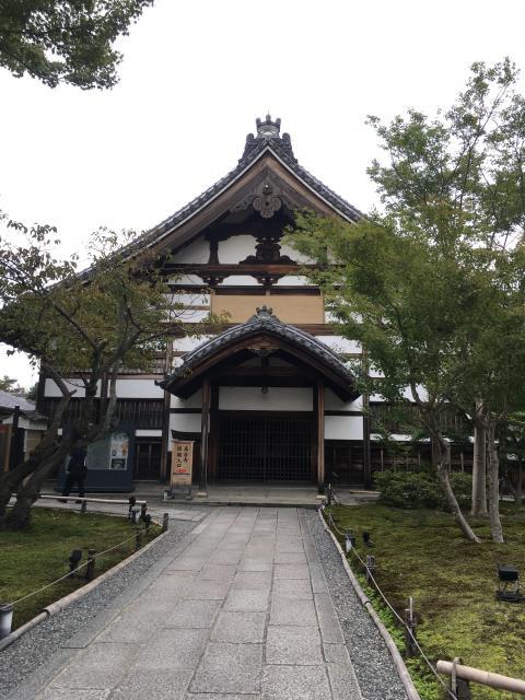 京都府高台寺の本殿