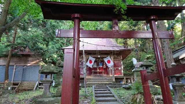白山姫神社の鳥居