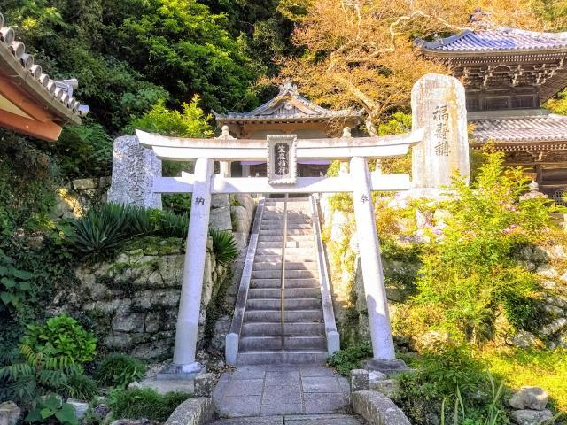 愛知県岩屋寺の本殿