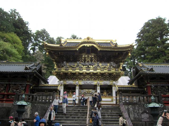 日光東照宮の山門