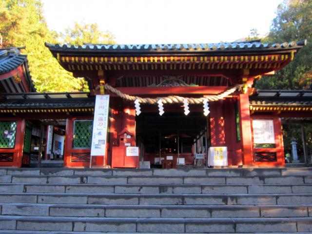栃木県日光二荒山神社中宮祠の本殿