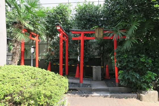 東京都福寿大神の鳥居